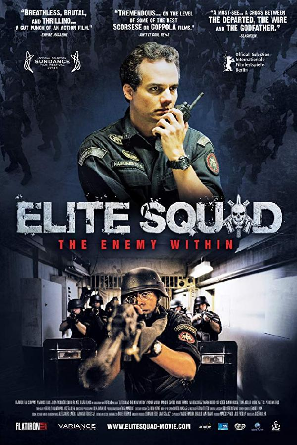 Elite Squad: The Enemy Within (2010)