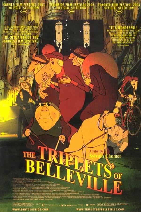 The Triplets of Belleville (2003)