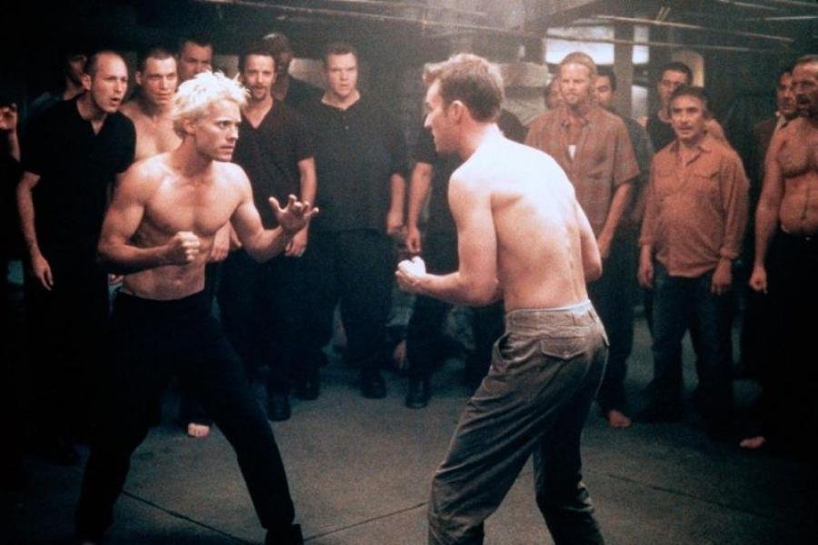 Jared Leto in the Movie Fight Club (1994)