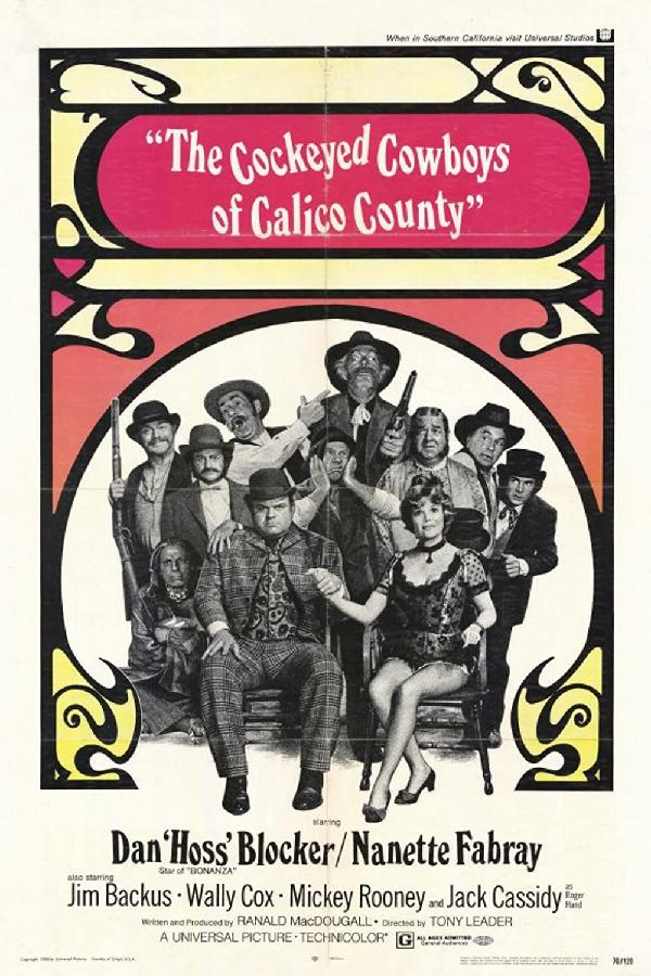The Cockeyed Cowboys of Calico County (1969)
