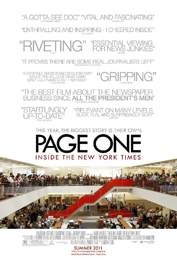 Page One: Inside The New York Times (2011)