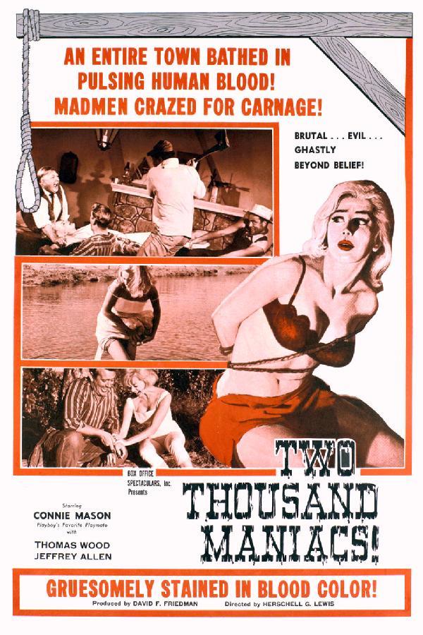 2,000 Maniacs (1964)